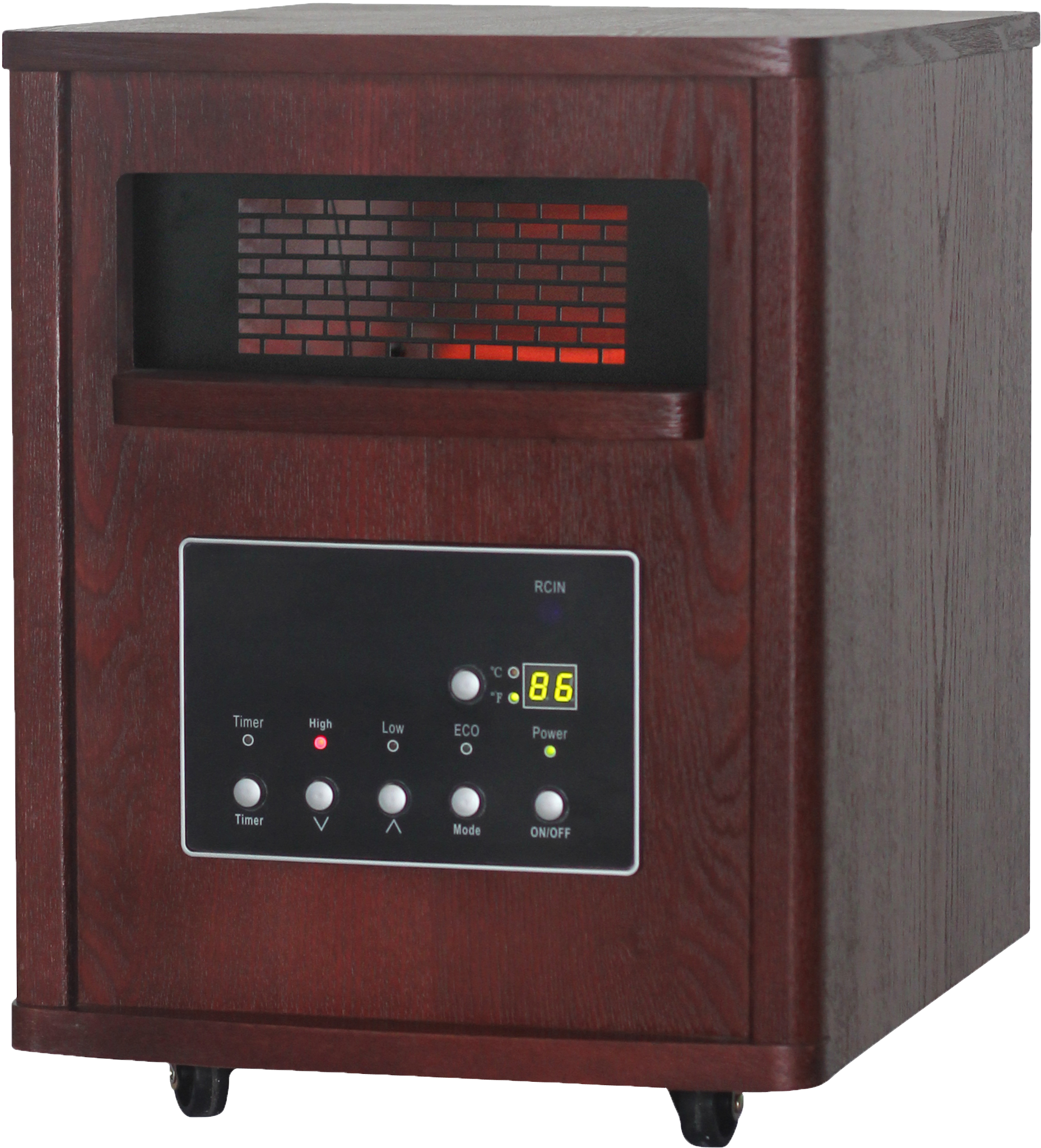 Thermal Wave by SUNHEAT TW1460 Infrared Heater - Espresso